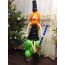 """Фигура из шаров """"Ведьмочка"""""""