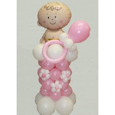 Фигура из шаров Малышка с соской