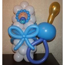 Фигура из шаров Малыш с соской