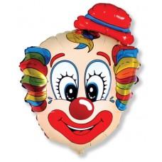 Шар (30''/76 см) Фигура, Голова клоуна