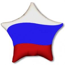 Шар (18''/46 см) Звезда, Триколор России