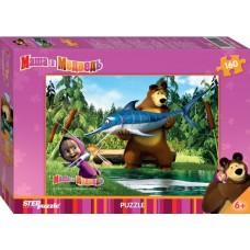 "Пазл ""Маша и Медведь"", 160 деталей"