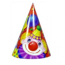 Колпак Клоун с шарами 16 см