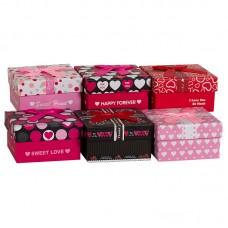 Коробка подарочная, Любовь, 9*9*6см