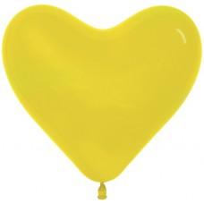 Сердце (6''/15 см) Желтый