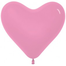Сердце (12''/30 см) Розовый