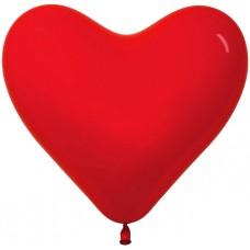 Сердце (12''/30 см), Красный