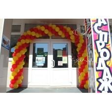 Оформление входа в магазин №3