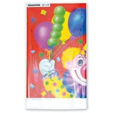 Скатерть Клоун с шарами 140х180см