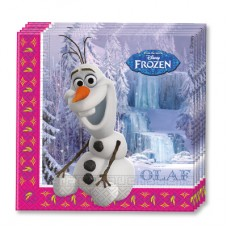 Салфетки Frozen Олаф, 20 штук