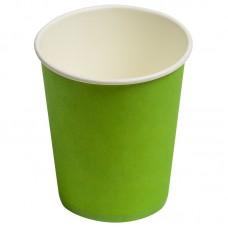 Стаканчики однотонные, зеленый, 180мл, 6шт.