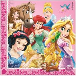 Салфетки Принцессы и зверушки
